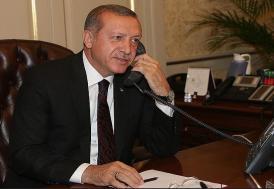 Erdoğan, Zelenskiy'i kutladı