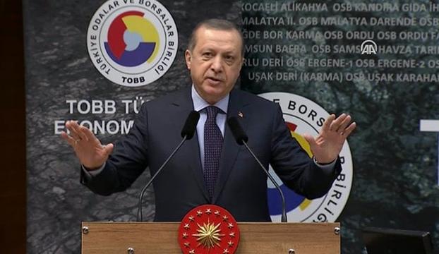 Erdoğan: Kaptanı sevmedikleri için geminin dibini delmeye çalışıyorlar