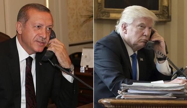 Erdoğan ve Trump telefonda görüşecek