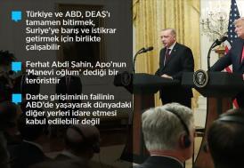 """""""Erdoğan ile çok harika ve verimli bir görüşme gerçekleştirdik"""""""