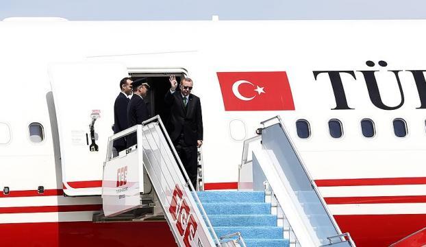 Cumhurbaşkanı Erdoğan, Polonyaya gitti