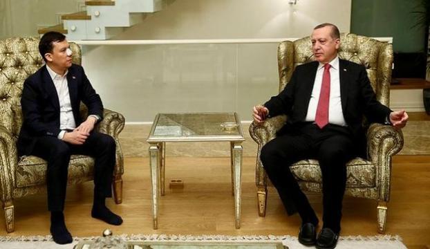 Cumhurbaşkanı Erdoğandan Şahine geçmiş olsun ziyareti