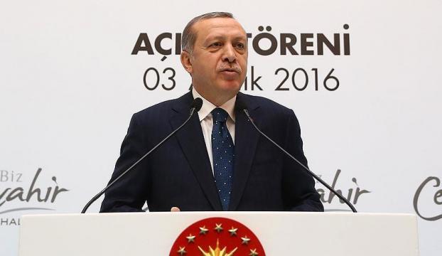 Cumhurbaşkanı Erdoğan: Milli paramıza yönelelim, gelecek bizim paramızdadır