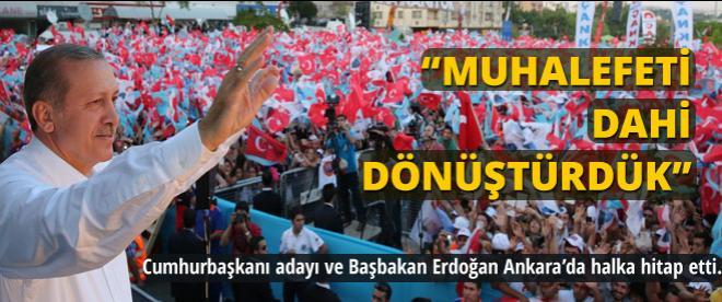 Başbakan Erdoğan Ankara'da konuştu