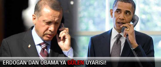 Erdoğan Obama'yla yaptığı görüşmeyi anlattı