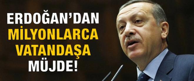 Erdoğan'dan taşeron işçi ve bağ-kur borçlularına müjde!