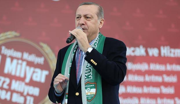 Erdoğandan APye: Haddinizi bilin