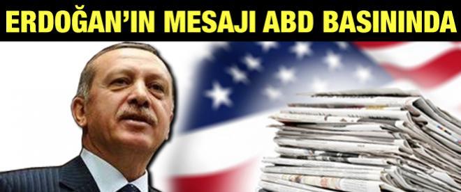 Erdoğan'ın 1915 olaylarına ilişkin mesajı ABD basınında