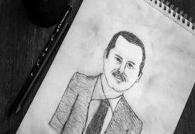 Erdoğan'dan, portresini çizen küçük hayranına telefon