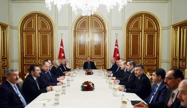 İstanbulda güvenlik toplantısı yapıldı