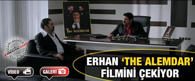 Erhan 'The Alemdar' filmini çekiyor