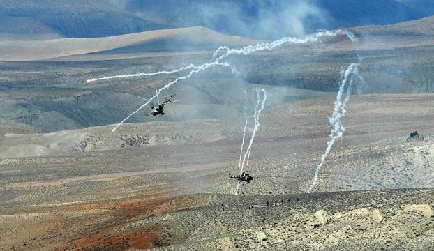 Azerbaycan, Ermenistanın karargah olarak kullandığı mevzileri imha etti