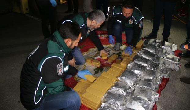 Kocaelide 115 kilogram eroin ele geçirildi