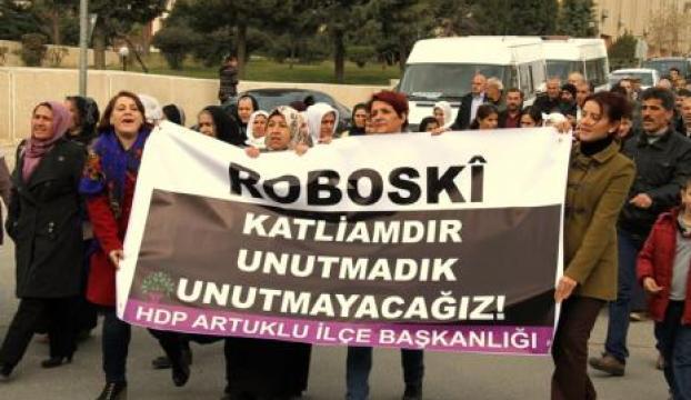 Eş Başkan Irmak, Roboskide protesto eylemine katıldı