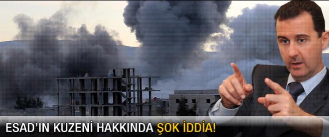 Esad hakkında şok iddia
