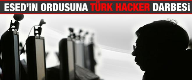 Esed'in ordusuna Türk hacker darbesi