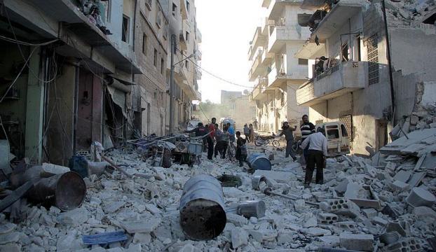 Esed rejiminden Hulaya vakum bombalı saldırı