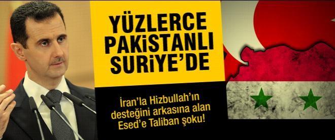 """Pakistan Talibanı: """"Suriye'de savaşıyoruz"""""""
