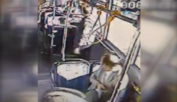 Eski sevgili otobüste dehşet saçtı