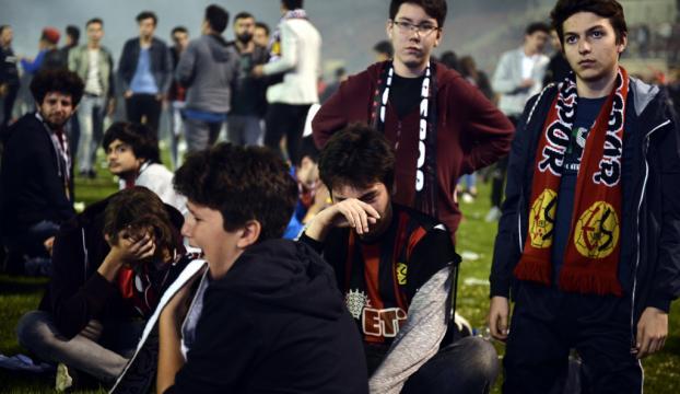 Eskişehirde Süper Lige çıkamama üzüntüsü