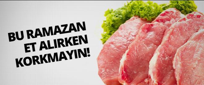 Ramazan'da ithal et yok!