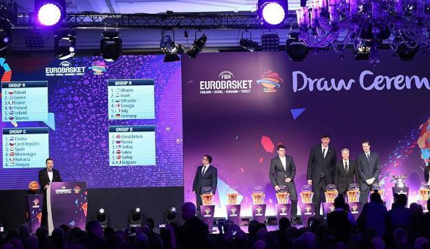 EuroBasket 2017nin kuraları çekildi