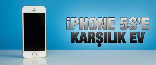 iPhone 5S'e karşılık ev