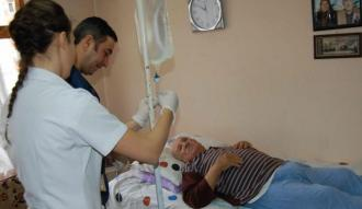 1 milyon kişi evde sağlık hizmeti aldı
