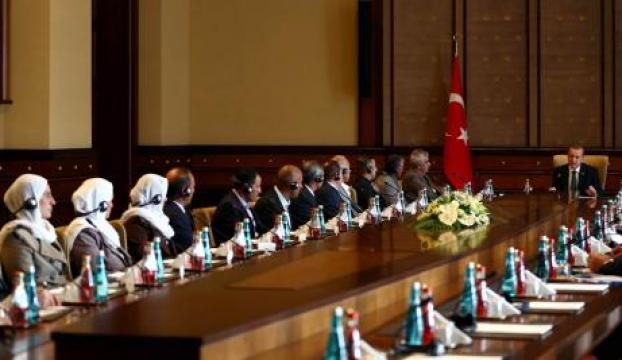 Ezidiler, Cumhurbaşkanlığı Sarayında