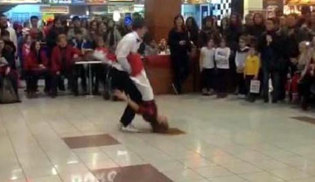 Liseli kızın dansı hastanede bitti