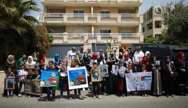 İsrail hapishanelerinde açlık grevi yapan Filistinliler