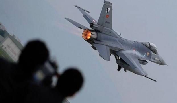 Terör örgütü hedefleri savaş uçaklarıyla vuruldu