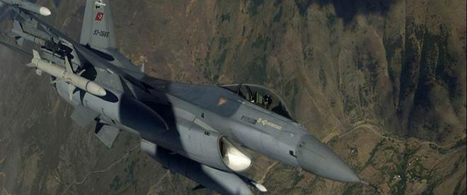 Irakın kuzeyine operasyon, 5 terörist etkisiz hale getirildi