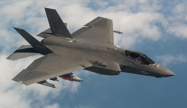İngiliz F-35leri Suriye ve Irakta göreve çıktı
