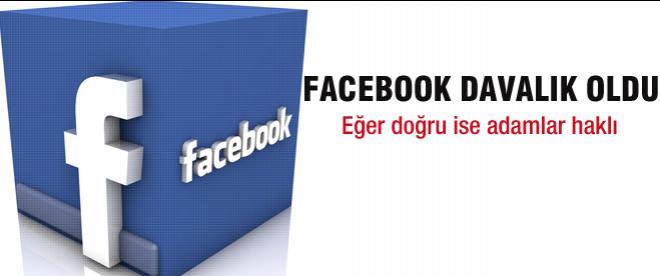 Facebook davalık oldu!