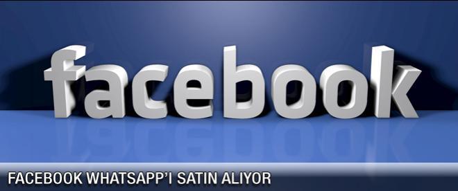 Facebook WhatsApp'ı alıyor