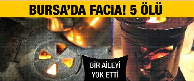 Bursa'da facia: 5 ölü