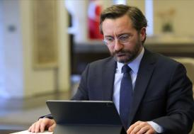 İletişim Başkanı Altun: Milli Dayanışma Kampanyamızda 552 milyon 529 bin lira toplandı