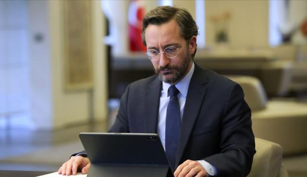 """İletişim Başkanı Altun: """"Papa Francisin Doğu Akdeniz hakkındaki açıklamalarını memnuniyetle karşılıyorum"""""""
