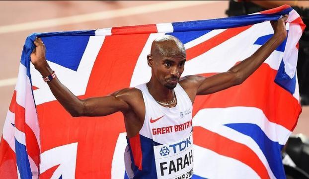 Farah doping iddialarına tepki gösterdi