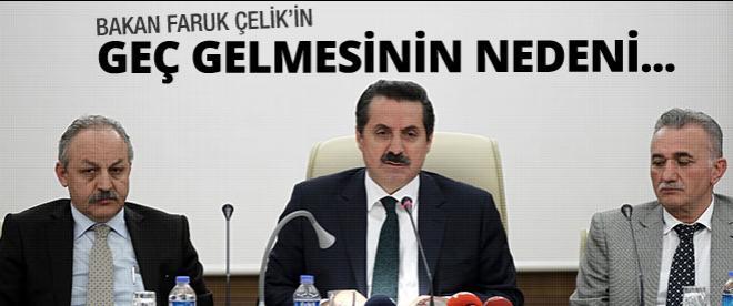 Faruk Çelik Soma ile ilgili açıklama yaptı