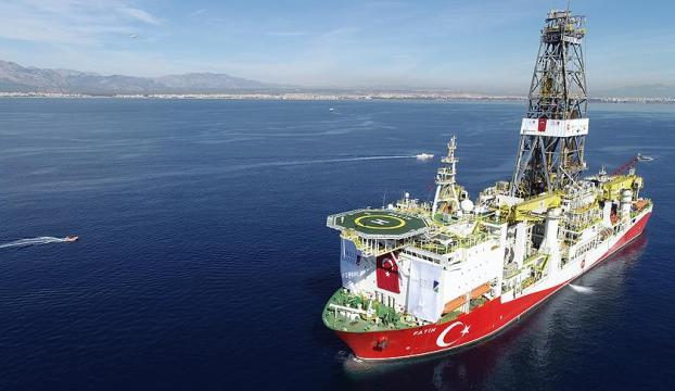 Milli sondaj gemisi Fatih Akdenizde ilk sondajına başlıyor