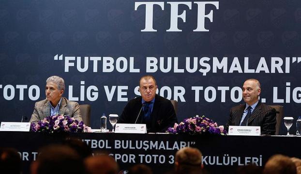 Fatih Terim kulüp başkanlarıyla buluştu