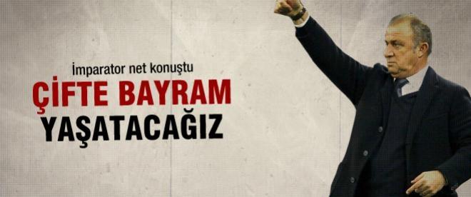 Fatih Terim: Türkiye çifte bayrama hazır