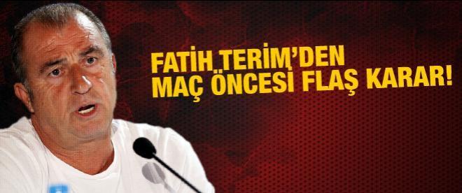 Fatih Terim'den flaş karar!