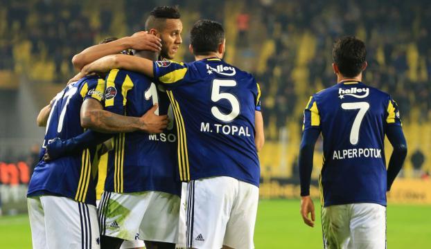 Fenerbahçe: 3 Gençlerbirliği: 0