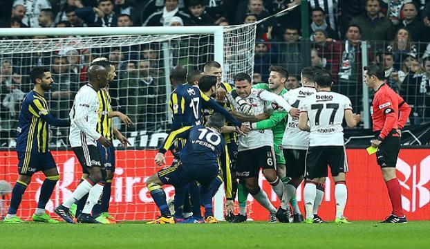 PFDK, Beşiktaş ve Fenerbahçeye cezayı kesti