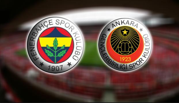 Fenerbahçe - Gençlerbirliği 83. randevuda