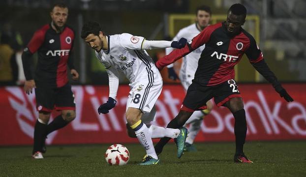 Fenerbahçe Gençlerbirliği maçında beraberlik