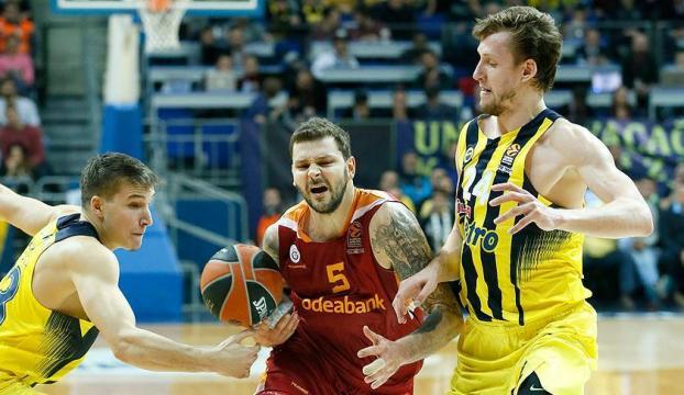 THY Avrupa Ligindeki Türk derbisinin galibi Fenerbahçe